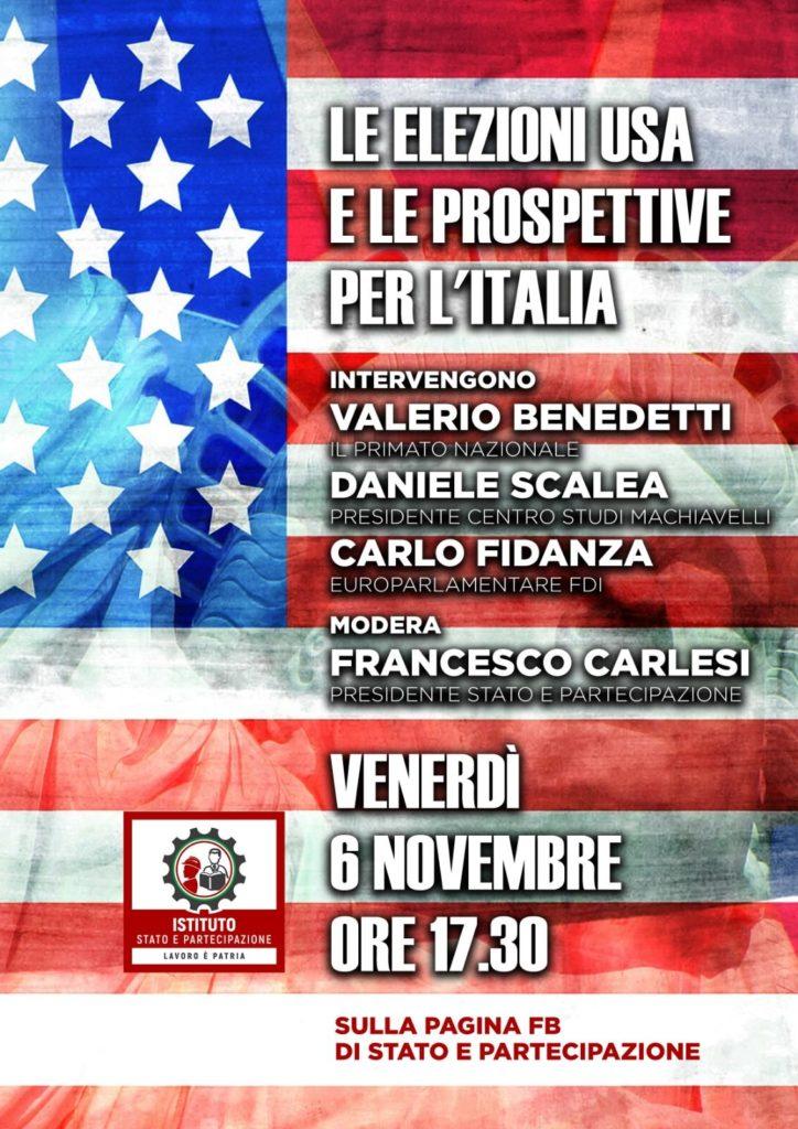 Webinar Elezioni USA e prospettive per l'Italia   Istituto Stato e Partecipazione